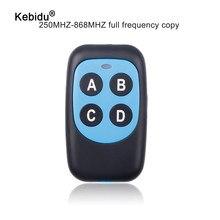 Kebidu 282-868MHZ ABCD bezprzewodowy RF pilot zdalnego sterowania 433 MHz dla elektryczna brama pilot do drzwi garażowych 315Mhz kontroler