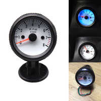 Blue LED Digital Display 12V LED Tacho Gauge Tachometer with Sensor for Cars 52mm Gauge Tachometer Gauge Meter 0-8000 RPM