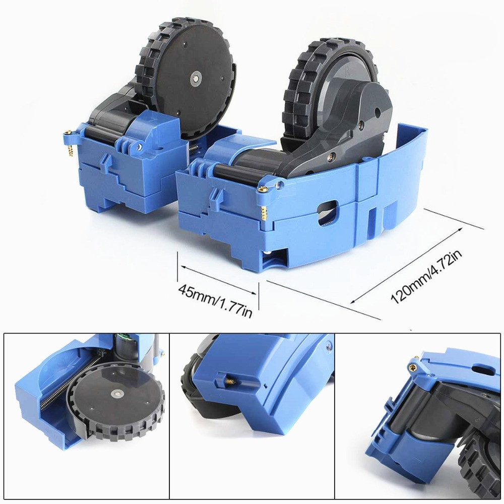 Left Right Wheel Module Motor For Irobot Roomba 500 600 700 Series 620 650 660 595 780 760 770 Vacuum Cleaner Wheel Parts