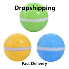 Waterproof Pet Cat dog Toy Magic Roller Ball Jumping USB Electric LED Rolling Flash Fun For Dog kitten Kids