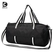 2019 DC.MEILUN Waterproof Roomy Men Sports Travel Bag Fashion Women Gym Back Pack Capacious Men's Shoulder Bag with Shoe Pouch