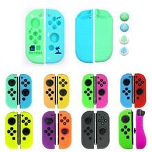 Neue für Freude con Silikon Gummi Haut Fall Abdeckung für Nintendo Schalter Joycon Controller Schutz Hülse Fall