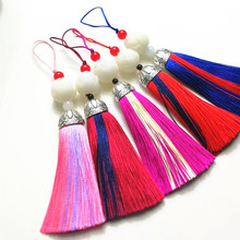 Cheongsam tassel accessories home decoration, jewelry mini tassel, jewelry accessories lotus classical Chinese style DIY pendant