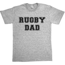 Newest 2019 Men Fashion Rugbier Dad Fathers Day Sporter Booter Fan Mens T-Shirt Hot Tee Shirt(China)