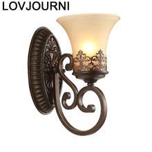 Lamp Luminaria Home Deco Stair Arandela Para Parede Wandlampen Wandlamp Aplique Luz Bedroom Lampara De Pared Interior Wall Light