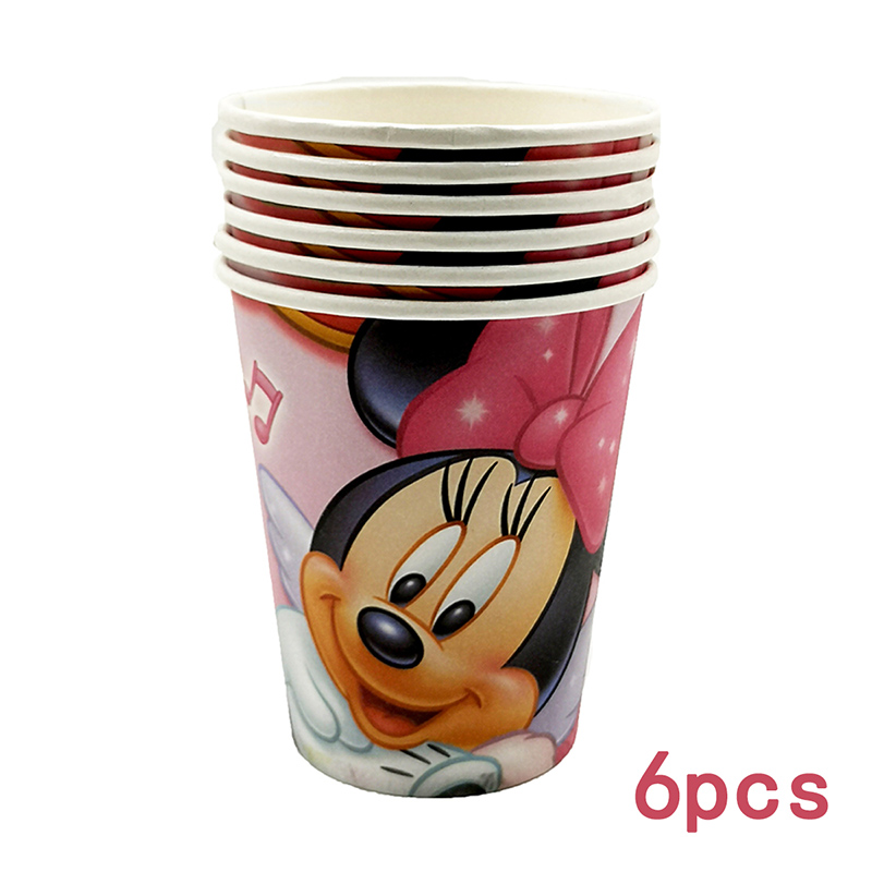 Minnie Mouse Popcorn Box Party Supplie Party Decorations Baby Shower Happy Birthday Party Supplies Kids Birthday Kids Party in Disposable Party Tableware from Home Garden