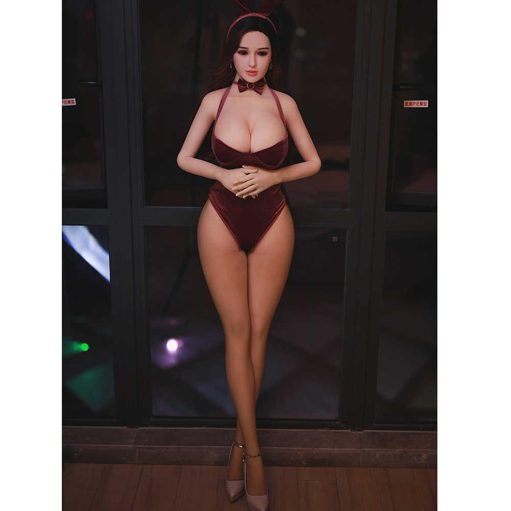 Silikon Boneka Seks 170 Cm Boneka Cinta Pria Boneka Seks Pantat Besar Realistis Pantat Gemuk Payudara Besar Manusia Hidup Seks Dewasa mainan untuk Pria