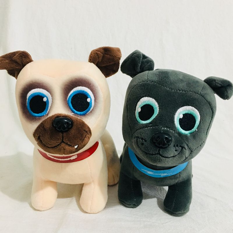 20cm  Puppy Dog Pals Bingo And Rolly Dog  Stuffed Animal Plush Toy