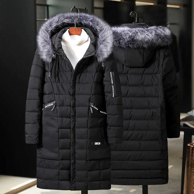 플러스 두꺼운 벨벳 다운 & 파카 코트 6XL 7XL 8XL 9XL 10XL 2020 브랜드 따뜻한 겨울 자켓 남자의 스포츠 용 재킷 남자 옷을 유지