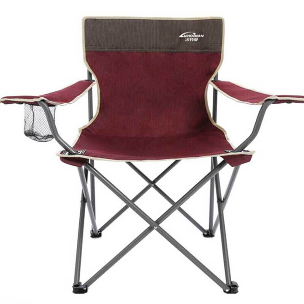 Outdoor Chair Camping Folding Beach Fishing Portable Leisure Stool With Backrest For Travelling Hiking Picnic Camping Furniture