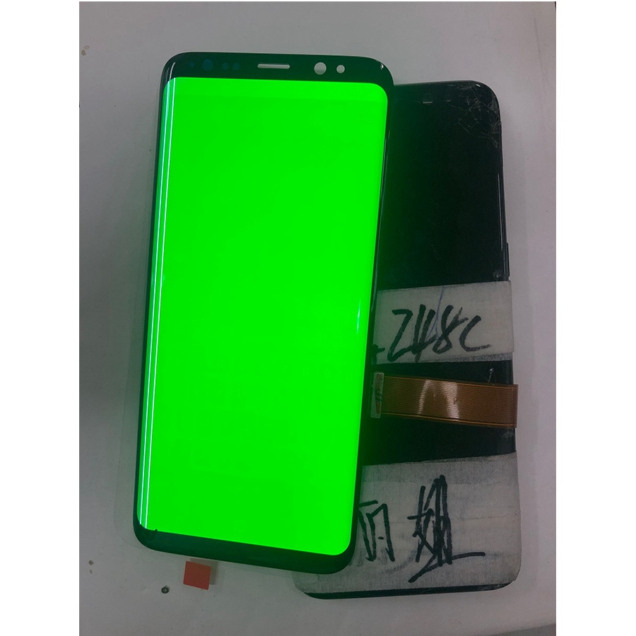Broken Glass Original Burn-Shadow LCD For <font><b>Samsung</b></font> S8 <font><b>G950</b></font> G950U G950F S8 Plus G955 G955F S9 Plus <font><b>Display</b></font> Touch Screen Digitizer image