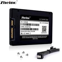 """Zheino 2,"""" SSD SATA3 120 ГБ 240 ГБ 360 ГБ 480 ГБ 960 ГБ 128 ГБ 256 512 1 ТБ Интерфейс твердотельных дисков для ПК, ноутбука, настольного компьютера"""