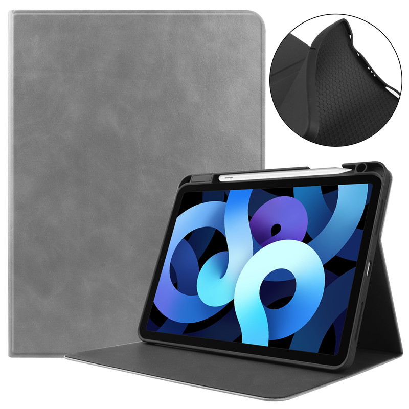 Apple Fold-Stand for Air4-Cover A2072-Shell with Fundas Pencil-Holder iPad Tablet-Case