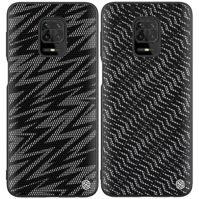 Nillkin Twinkle kılıfı Xiaomi Redmi için not 9S not 9 Pro Max Poco M2 Pro pırıltı koruyucu zebra kapak kabuk
