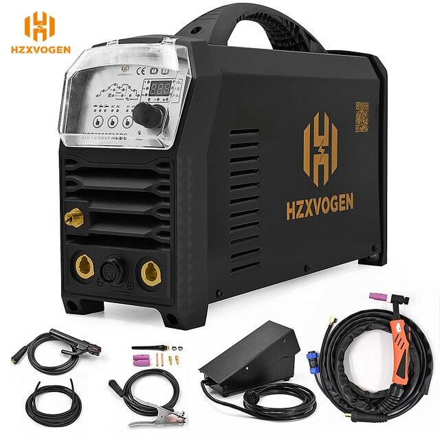 HZXVOGEN Tig сварочный аппарат Arc MMA TIG200P AC DC алюминиевый сварочный инвертор, паяльное оборудование, Функциональная Машина для контроля на большом расстоянии