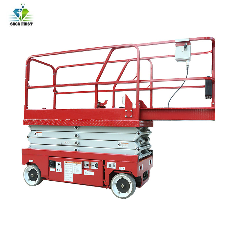 Mobile Automatic Scissor Lifts Self Propelled With Battery Charging For Hot Sales