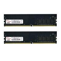 KAMOSEN-placa base DDR4 RAM, 4GB, 2400MHz, 288 Pines, PC4, 19200, 16 bancos, memoria de escritorio dedicada, voltaje de 1,2 V