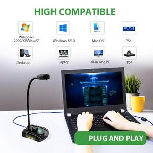 Image 1 - USB микрофон MAONO GM30, конденсаторный игровой микрофон для подключения и воспроизведения, бесшумный микрофон для записи YouTube Skyp