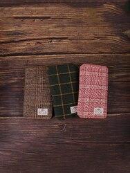 Kinbor Zipper Bag Week Notebook Portable Small Notebook Efficiency Book Schedule Book Hand Account Grid Diary Cloth Mesh Hand