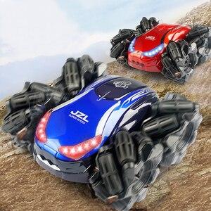 Image 1 - Mini coche eléctrico RC Control remoto juguete Radio Control Drift Car juguetes para niños regalos niños vehículo juguete 1:24 2555