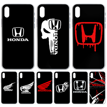 HONDA car Phone Case cover For iphone 4 4S 5 5C 5S 6 6S PLUS 7 8 X XR XS 11 PRO SE 2020 MAX transparent cover 3D back fashion image
