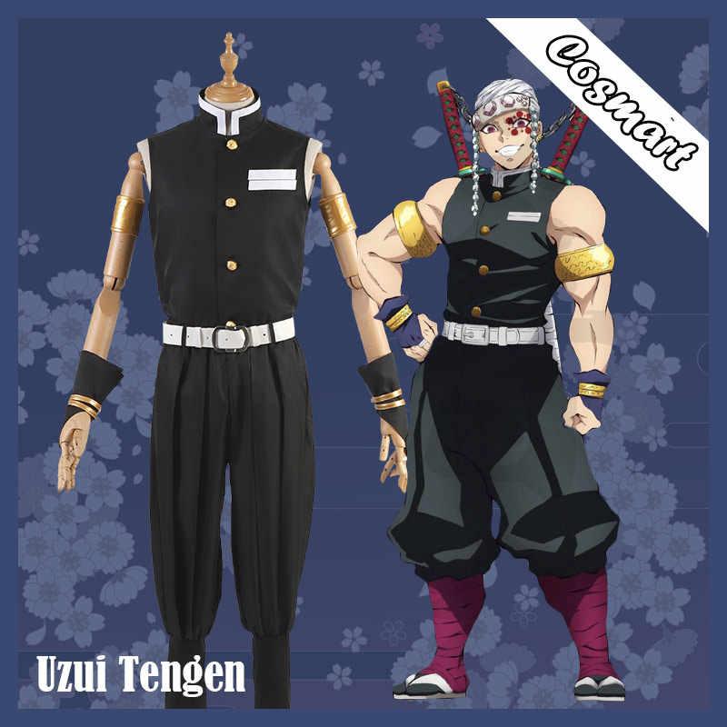 Stock Anime Demon Slayer Kimetsu No Yaiba Uzui Tengen Cosplay Costume Kimono Uniform Halloween Costumes For Adult New Anime Costumes Aliexpress 616 x 872 png 1069 кб. aliexpress