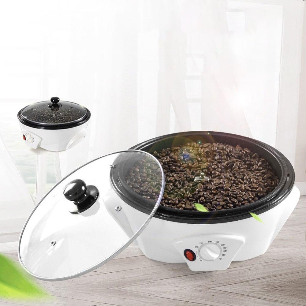 Electric Coffee Bean Roaster Automatic Bean Baker Peanut Beans Baking Machine Dryer Roasting Machine Nut Roaster Coffee