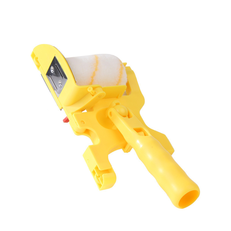 5Pcs DIY Paint Roller Brush Tools Set Household Use Clean-Cut Paint Edger Edger Tool Painting Brush Paint Rollers