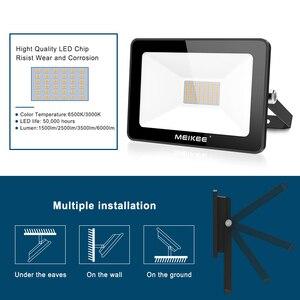 Image 4 - 60W SMD LED 홍수 빛 방수 AC220V LED 투광 조명 프로젝터 반사판 램프 야외 스포트 라이트