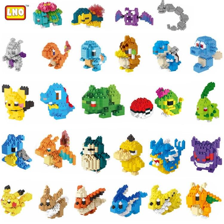 36 Styles Mini Block Building Toys Cute Intellgent Diy  Building Blocks  Toys For Kids