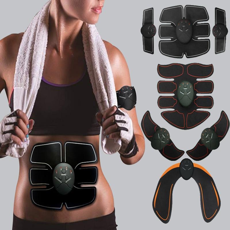 Стимулятор мышц EMS Электростимуляция мышц живота электростимулятор ABS стимулятор фитнес Электрический Антицеллюлитный Массажер