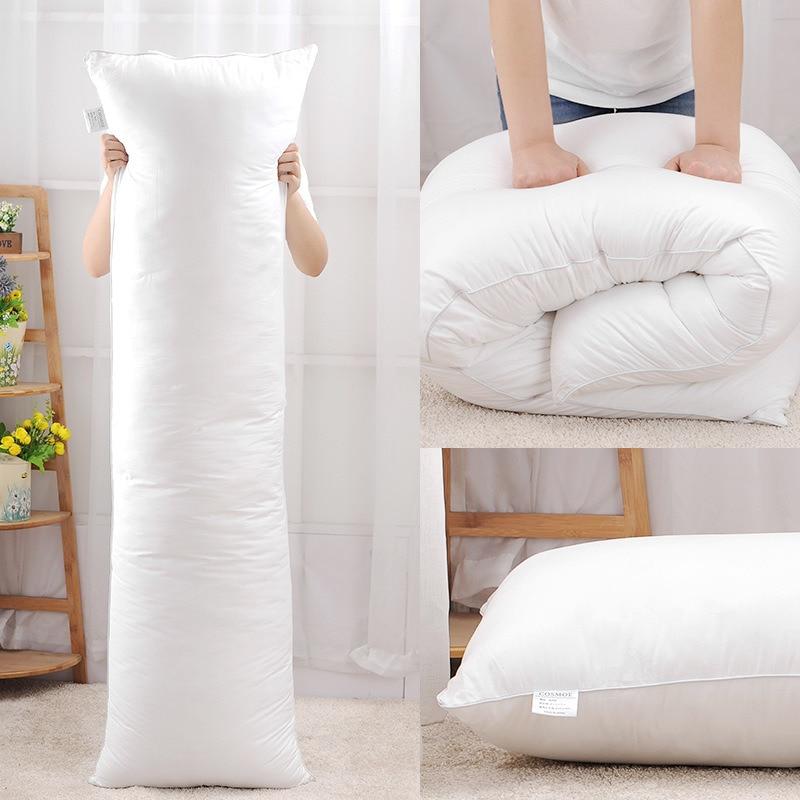 Длинная Подушка 150x50 см, внутренняя белая подушка для тела, Прямоугольная подушка для обнимания аниме, Подушка для домашнего использования, ...