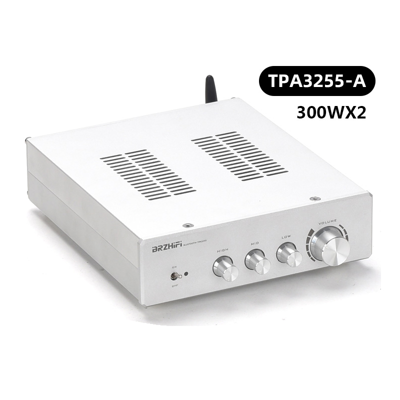 YWJJX TPA3255-A With Bluetooth 5.0 Power Fever Digital Power Amplifier 300WX2  4-16 Ohms Class D HiFi Amplifier
