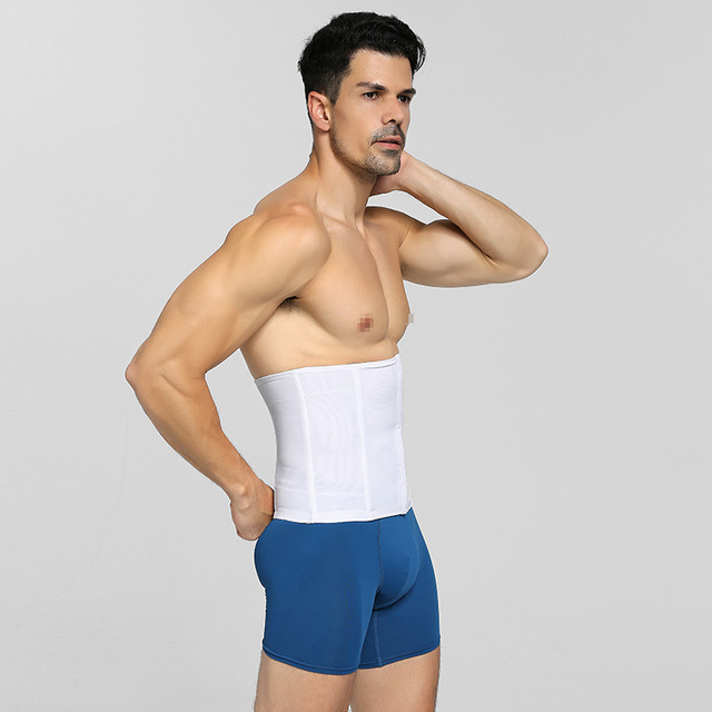 Abdominal Band PRAYGER Men  Slimming Waist Girdle Belly Trainer Belt Tummy Trimmer Waist Cinchers 3