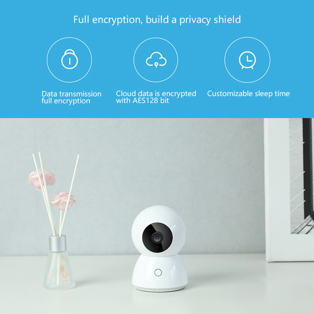 Xiaomi Mijia Xiaobai Smart Camera Enhanced Edition AI control 1080p Smart Web IP Cam 360 View Baby Monitor 6