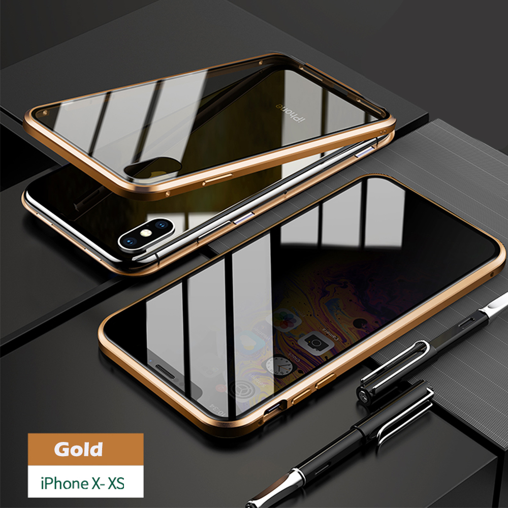 for iPhoneX XS gold