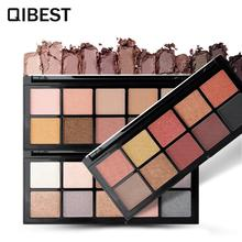 10 Earth Color Nude Makeup Eye Shadow Palette Smoky Glitter Matte Make Up Brush Tool Set Eyeshadow Maquillage Cosmetics цена 2017