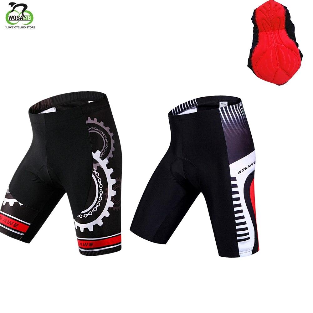 Men Padded Cycling Baggy Shorts MTB Downhill Mountain 4D Gel Pad Bike Short Pant