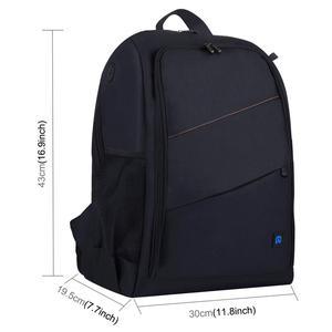 Image 3 - PULUZ กลางแจ้งแบบพกพากันน้ำ Scratch proof Dual Shoulders กระเป๋าเป้สะพายหลังอุปกรณ์เสริมกระเป๋ากล้องดิจิตอล DSLR Photo Video กระเป๋า