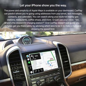Image 2 - Sinairyu OEM אלחוטי Apple CarPlay עבור פורשה PCM 3.1 2010 2016 קאיין Macan קיימן וקסטר 911 אנדרואיד אוטומטי מראה רכב לשחק