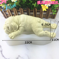 Doinb Large dog shape silicone soft candy mold cake decorating tool Candy Chocolate Mold