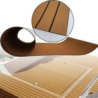 EVA Foam Faux Teak Decking Sheet Light Brown Yacht Marine Carpet Flooring Mat Non Skid Self Adhesive Sea Deck Boat Accessories