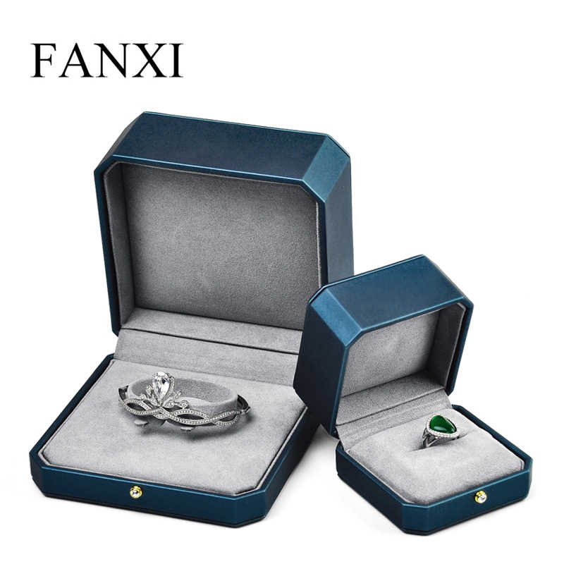 Oirlv Jewelry Gift Box with Microfiber for Jewellery Storage Ring Jewellery Set