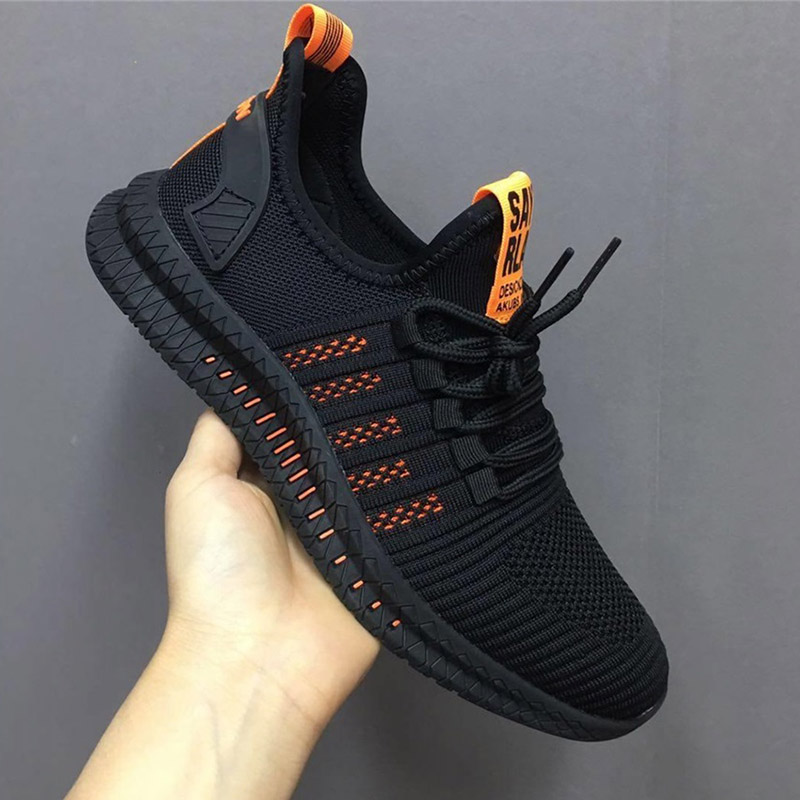 New Mesh Men Casual Shoes Lac-up Men Shoes Lightweight Comfortable Breathable Walking Sneakers Tenis Feminino Zapatos 4