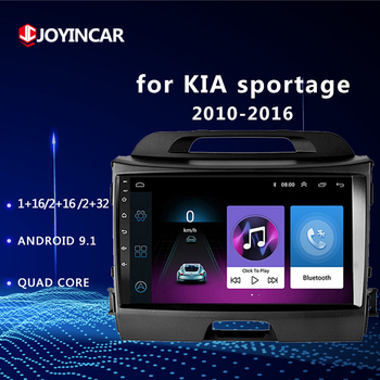 2Din Android 9.1 Car Radio for KIA Sportage 2010 2011- 2016 Multimedia Player 2din Autoradio Video GPS Navi WiFi 2G+32G image