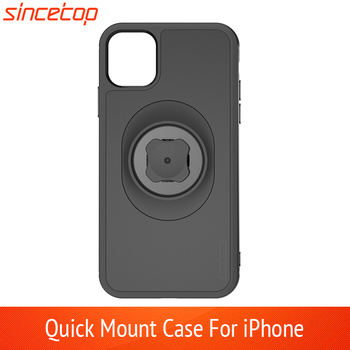 Bicycle Phone Holder with Quick Mount Adapter Car Holder Belt Clip Case for iphone 11 pro XsMax 8 Plus 7 6 6s 5s SE Bike Mount
