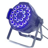 24x12 Вт 4в1 rgbw led par свет DJ Par Банки алюминиевый корпус Освещение сцены DMX свет мыть свет