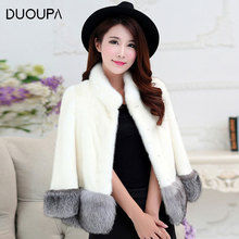 2019 New Autumn and Winter Imitation Water Mane Fur Coat Korean Version of the Slim Short Fox Was Thin Female