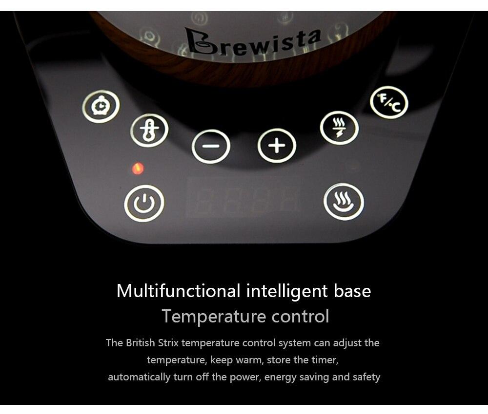 fina fermentação pote de café temperatura variável