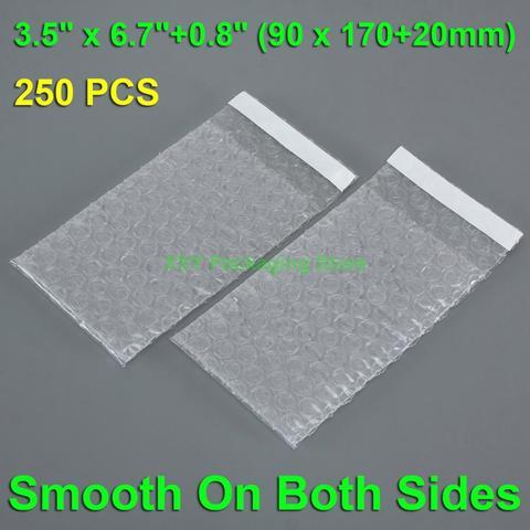 250 шт 35x67 дюйма + 08 (90x170 20 мм) пузырчатые мешочки для